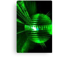 Laser ball Canvas Print