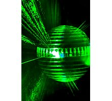 Laser ball Photographic Print