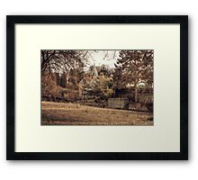Across To Loose Church Framed Print