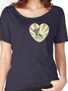 Earth Pony Heart (Ladies) Women's Relaxed Fit T-Shirt
