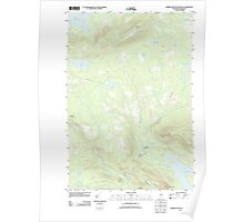 Maine USGS Historical Map Barren Mountain West 20110831 TM Poster