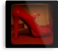Ttv: Red Mary Jane Metal Print