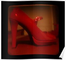 Ttv: Red Mary Jane Poster