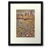 Upper Mill Pond Loose Framed Print