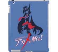 Akame ga kiru iPad Case/Skin
