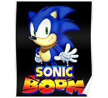 Classic Sonic Boom Poster