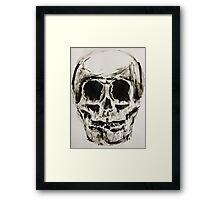 supernatural skull Framed Print