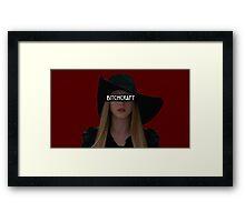 Zoe Benson - Bitchcraft Framed Print