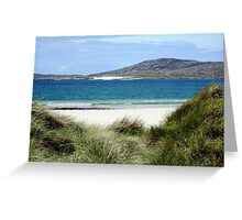 Immaculate Sands - Seilebost and Luskentyre Beaches Greeting Card