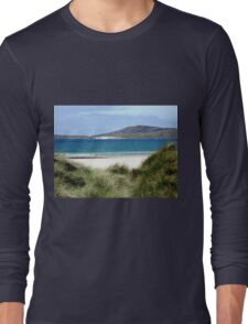 Immaculate Sands - Seilebost and Luskentyre Beaches Long Sleeve T-Shirt