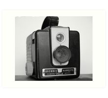 Brownie Hawkeye Art Print