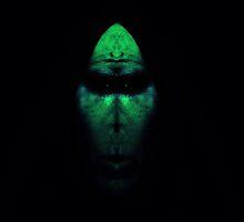 Alien in Green by Stuart Blythe