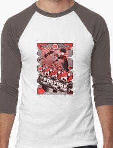 Team Rocketganda Men's Baseball ¾ T-Shirt