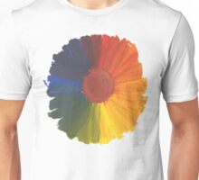 Colour Wheel Flower Unisex T-Shirt