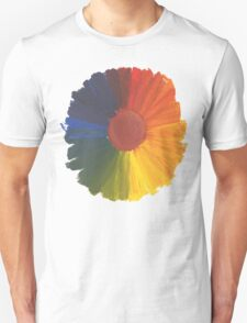 Colour Wheel Flower T-Shirt