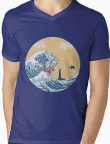 The Great Sea Mens V-Neck T-Shirt