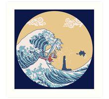 The Great Sea Art Print