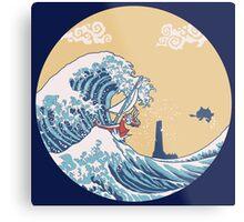 The Great Sea Metal Print