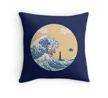 The Great Sea Throw Pillow