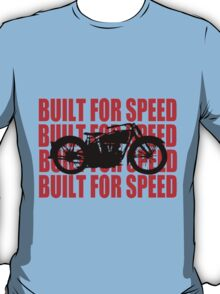 BUILT FOR SPEED-1930 RED T-Shirt