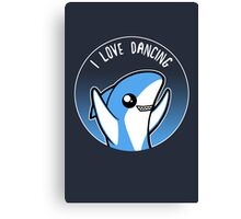 I love dancing Canvas Print