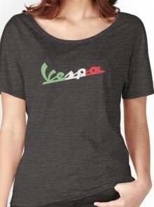 VESPA ITALIAN FLAG Women's Relaxed Fit T-Shirt