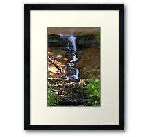 Munising Falls 2 Framed Print
