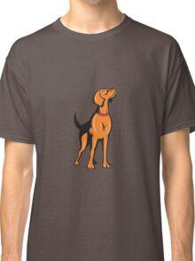 Cocker Spaniel Golden Retriever Dog Cartoon Classic T-Shirt