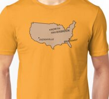 Monorail Map Unisex T-Shirt