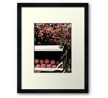Pumpkin Cart 2 Framed Print