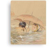 Love Floats Canvas Print