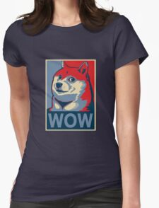 Wow! Womens Fitted T-Shirt
