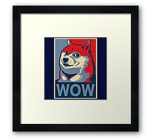 Wow! Framed Print