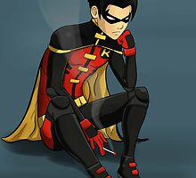 Robin - Jason Todd - Young Justice by Shamserg