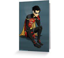 Robin - Jason Todd - Young Justice Greeting Card