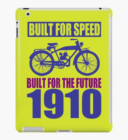 BUILT FOR SPEED-1910 iPad Case/Skin