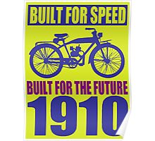 BUILT FOR SPEED-1910 Poster