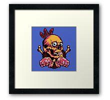 Skull Shaman Framed Print