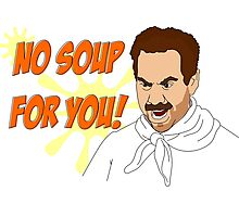 Soup Nazi Photographic Print