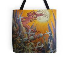 25 Crosses Tote Bag