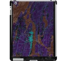Maine USGS Historical Map Bath 104901 2000 24000 Inversion iPad Case/Skin