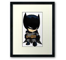 Chibi Batman Framed Print