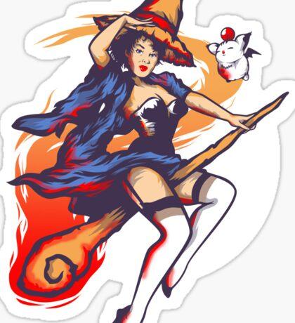 Black Magic Woman Sticker