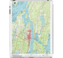 Maine USGS Historical Map Bath 104901 2000 24000 iPad Case/Skin