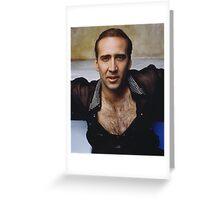 Nicolas Cage - The Shag Carpet Greeting Card