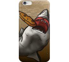 JAWS Take A Dunk  iPhone Case/Skin