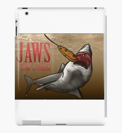 JAWS Take A Dunk  iPad Case/Skin