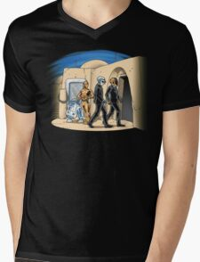 Daft Cantina Mens V-Neck T-Shirt