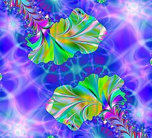 Fractal Floral by ArtByDrew