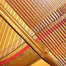 Perfect Euphany and Harmony - Golden Harp by MidnightMelody